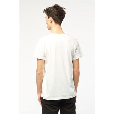 BEST MOUNTAIN T-shirt col rond - blanc