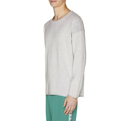 BENETTON Pull - gris chiné