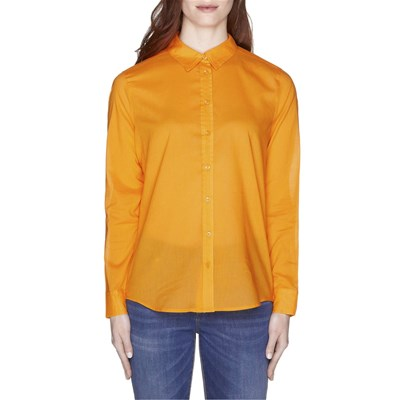BENETTON Chemise manches longues - ocre