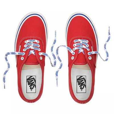VANS UA Authentic 44 DX - Tennis en cuir - rouge