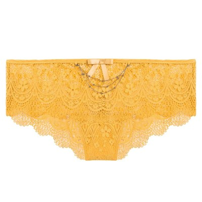 POMM'POIRE Acrobate - Shorty tanga - jaune