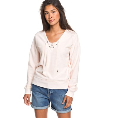 ROXY Over the falls - Sweat-shirt - poudre