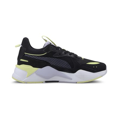 PUMA RS-X Reinvent WN'S - Baskets basses en daim - noir