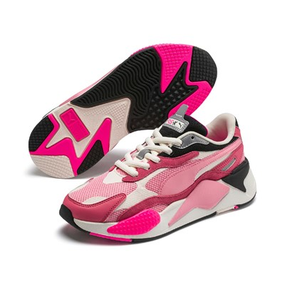 PUMA RS-X3 Puzzle - Baskets basses - rose