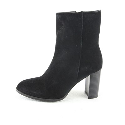 MANOUKIAN Ruth - Bottines en cuir - noir