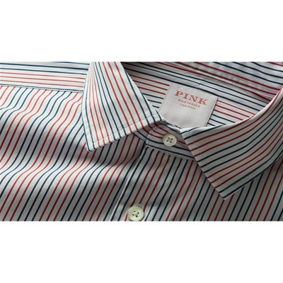 PINK SHIRTMAKER Two Colour - Chemise manches longues - blanc