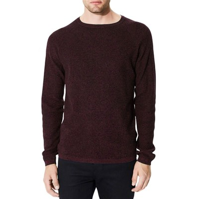 SELECTED Shane - Pull - bordeaux