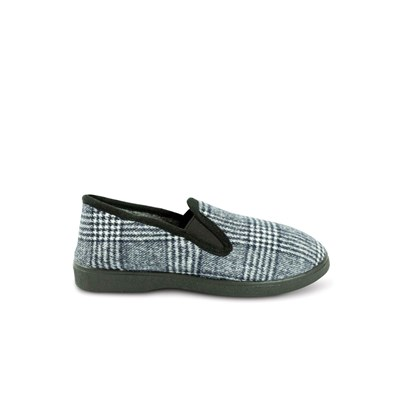 KEBELLO Chaussons charentaises - gris