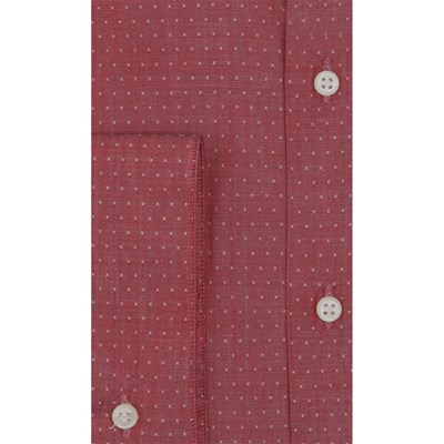PIERRE CLARENCE Chemise manches longues - rouge