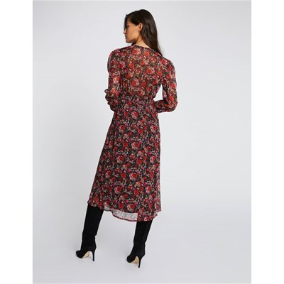 MORGAN Robe fluide - rouge
