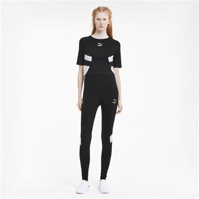 PUMA Crop Top - noir