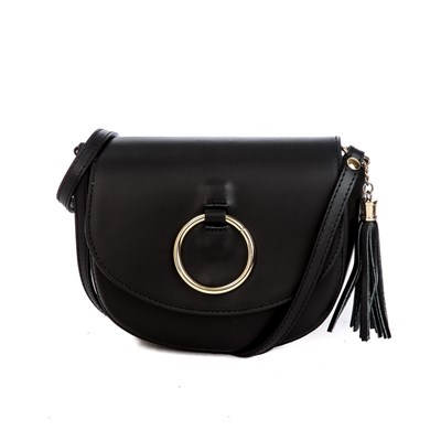 MADE IN ITALY Passy - Sac bandoulière - noir