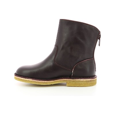 KICKERS Bottines en cuir - violet