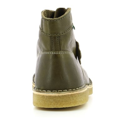 KICKERS Kick legend - Bottillons en cuir - kaki