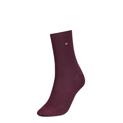 TOMMY HILFIGER Chaussettes - grenade