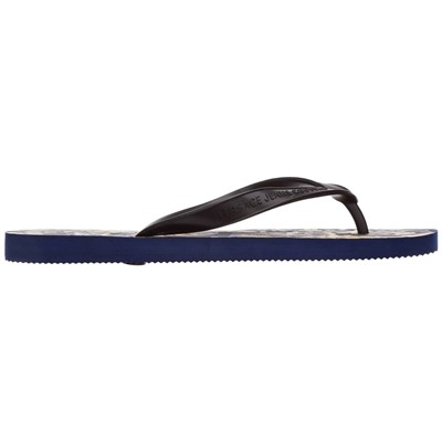 VERSACE Tongs - bleu marine