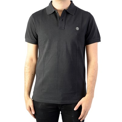 TIMBERLAND SS Millers RVR - Polo manches courtes - noir