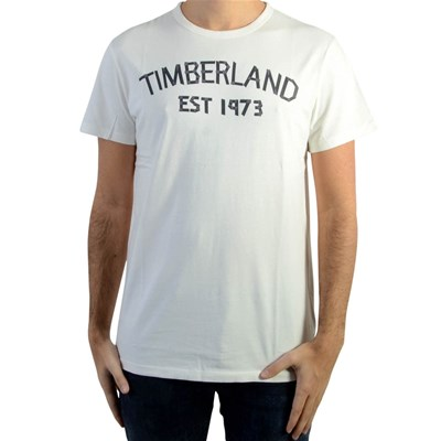 TIMBERLAND Tape - T-shirt manches courtes - blanc