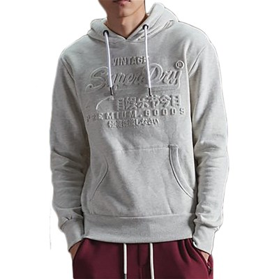 SUPERDRY Sweat à capuche - gris