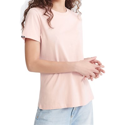 SUPERDRY T-shirt manches courtes - rose clair