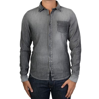 FIFTY FOUR Gonul - Chemise manches longues - gris