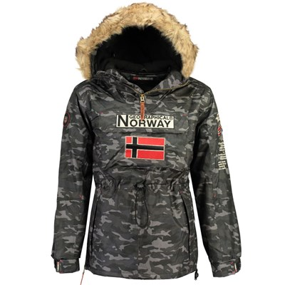 Geographical Norway - Barman - Parka - noir