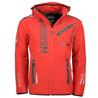 GEOGRAPHICAL NORWAY Royaute - Softshell - rouge