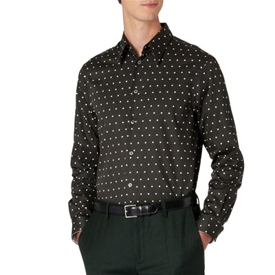 PAUL SMITH Tailored Fit - Chemise manches longues - noir