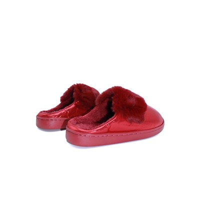 KEBELLO Chaussons brillants - rouge