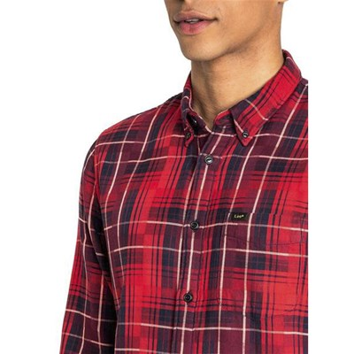 LEE Chemise manches longues - rouge
