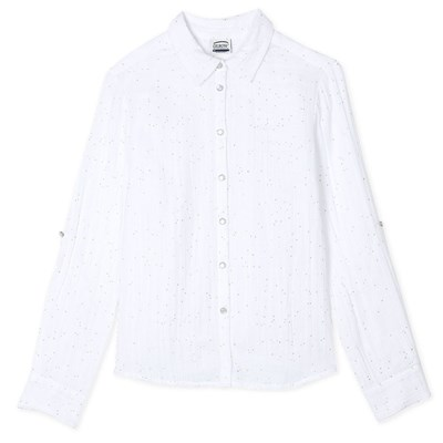 OXBOW Charlie - Chemise manches longues - blanc