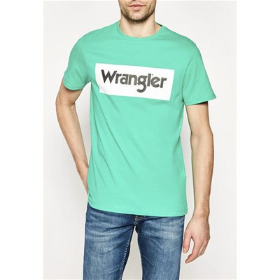 WRANGLER T-shirt manches courtes - turquoise