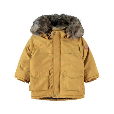 Name It - Mabe - Parka - moutarde
