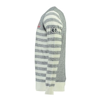GEOGRAPHICAL NORWAY Faculté - Pull - blanc