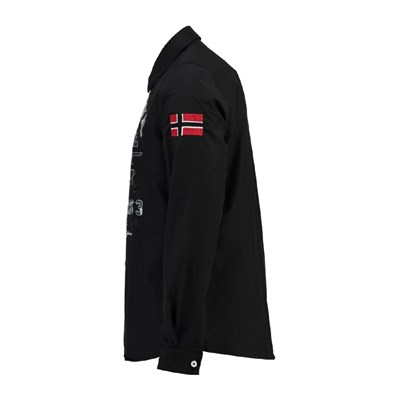 GEOGRAPHICAL NORWAY Zolduc - Chemise manches longues - noir