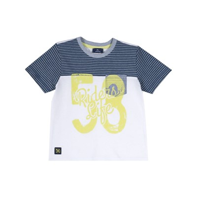 CHICCO T-shirt manches courtes - blanc