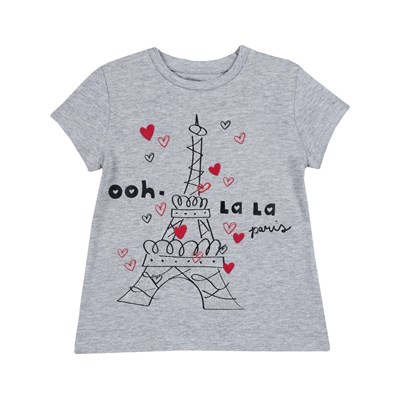 CHICCO T-shirt manches courtes - gris