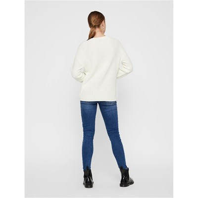 PIECES Karie - Pull - blanc
