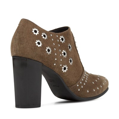 GEOX Peython High - Low boots en cuir - tabac