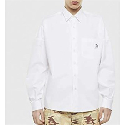 DIESEL S-Loomy - Chemise manches longues - blanc