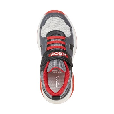 GEOX Spaziale - Baskets basses - rouge