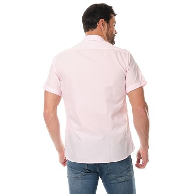 SINÉQUANONE HOMME Curt - Chemise manches courtes - rose