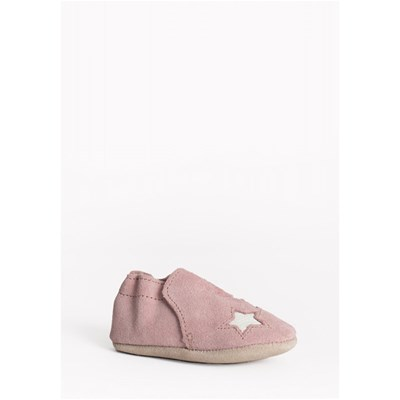 MINNETONKA Star infant bootie - Chaussons - rose
