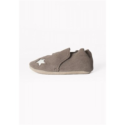 MINNETONKA Star infant bootie - Chaussons - gris