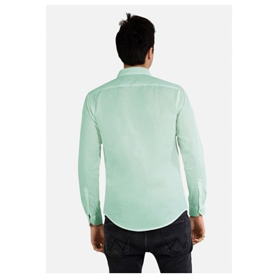 KEBELLO Chemise manches longues - vert clair