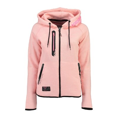 Geographical Norway - Galipette - Sweat à capuche - rose clair