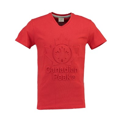 Canadian Peak - Journa - T-shirt manches courtes - rouge