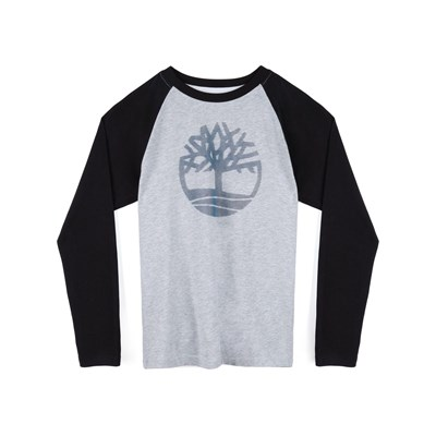 TIMBERLAND T-shirt manches longues - gris