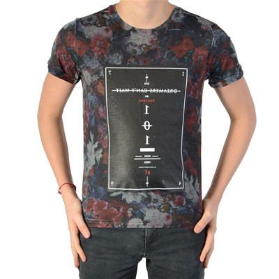 DEELUXE Sttle - T-shirt manches courtes - gris