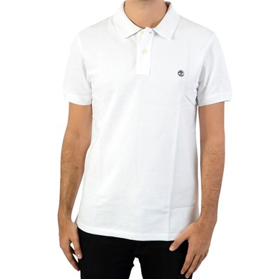 TIMBERLAND SS Millers RVR - Polo manches courtes - blanc